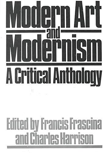 9780063182332: Modern Art and Modernism