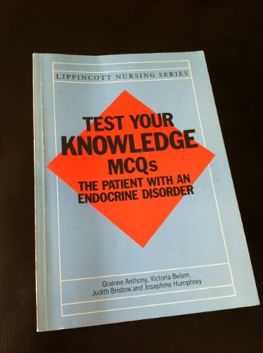 9780063182561: Patient with an Endocrine Disorder (Test Your Knowledge M.C.Q.)