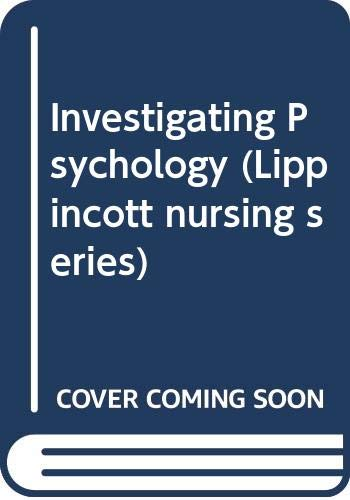 Investigating Psychology: A Practical Approach for Nursing: Wattley, Lesley A.
