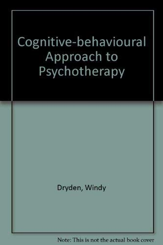 9780063183469: Cognitive-behavioural Approach to Psychotherapy