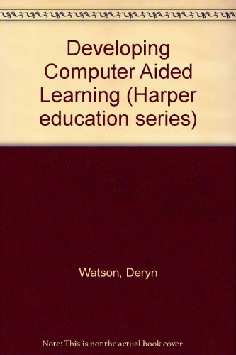 9780063183827: Developing CAL: Computers in the Curriculum
