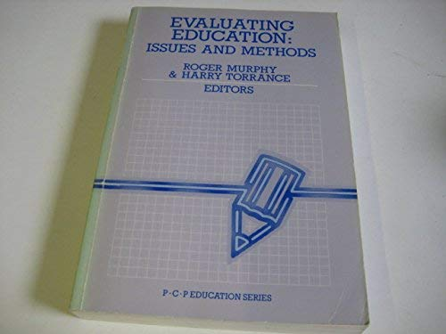 9780063183971: Evaluating Education: Issues and Methods