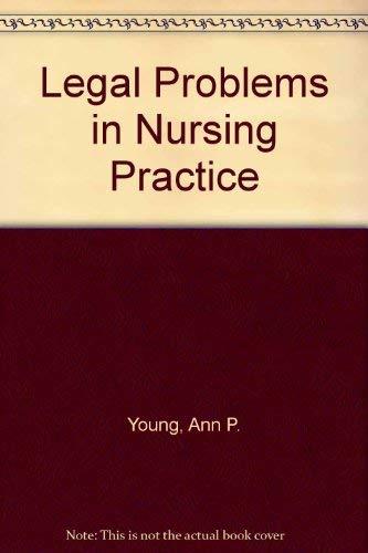 9780063184343: Legal Problems in Nursing Practice