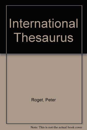 9780063370388: International Thesaurus