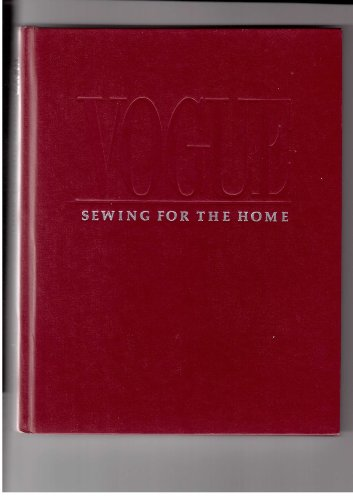 """9780063370425: """"Vogue"""" Sewing for the Home"""