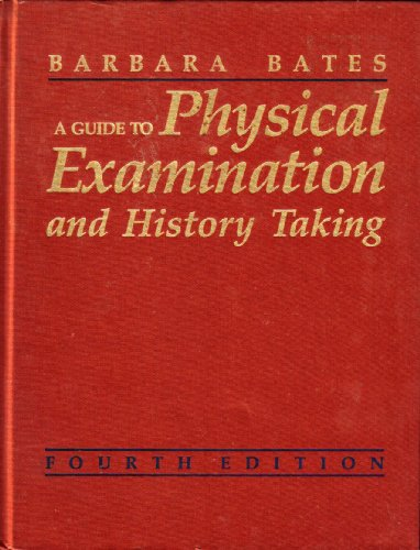 9780063501270: A Guide to Physical Examination and History Taking