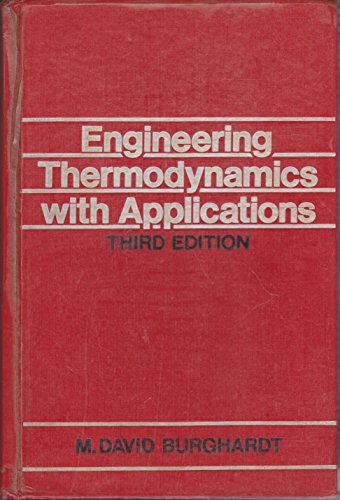 9780063502475: Engineering Thermodynamics with Applications