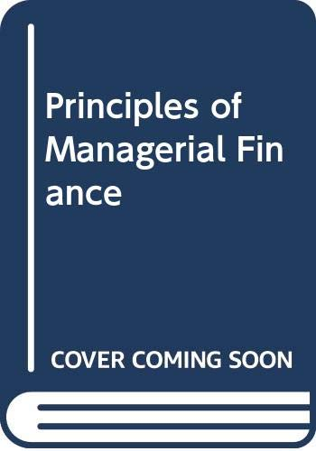 9780063503144: Principles of Managerial Finance
