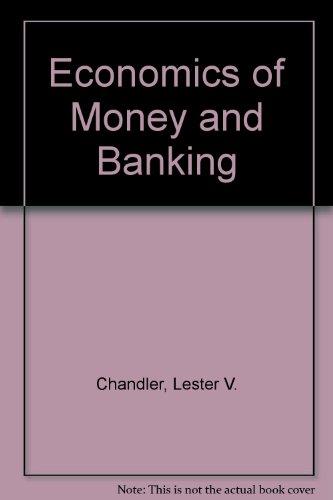 9780063503175: Economics of Money and Banking