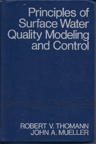 9780063507289: Principles of Surface Water Quality Modeling and Control