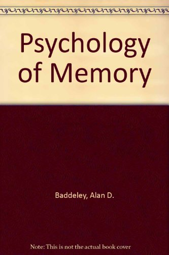 9780063560093: Psychology of Memory