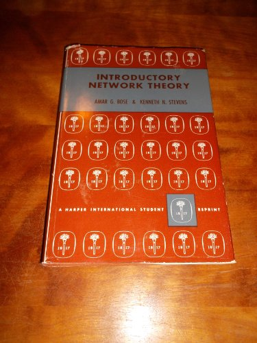 9780063560857: Introductory Network Theory