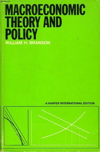 9780063560987: Macroeconomic Theory and Policy