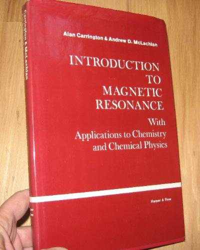 9780063561076: Introduction to Magnetic Resonance