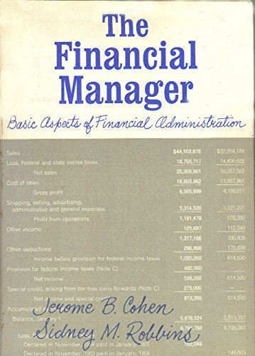 9780063561175: Financial Manager