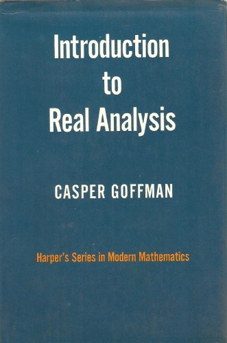9780063561878: Introduction to Real Analysis