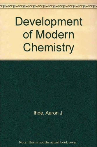 9780063562257: Development of Modern Chemistry