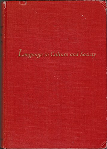 9780063562264: Language in Culture and Society