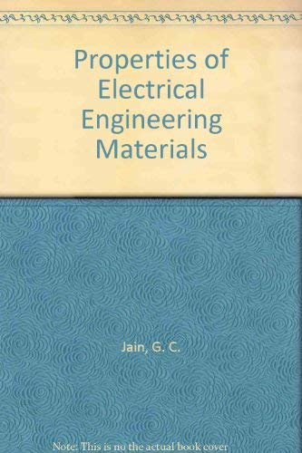 9780063562370: Properties of Electrical Engineering Materials