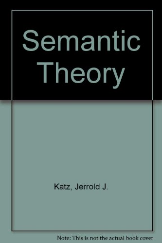 9780063562424: Semantic Theory