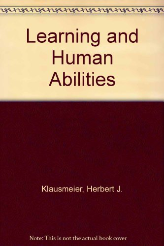 9780063562493: Learning and Human Abilities