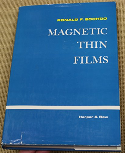 9780063564909: Magnetic Thin Films