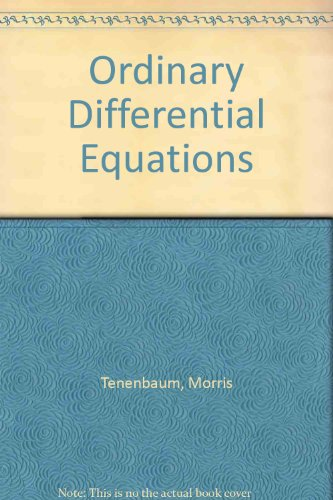 9780063565203: Ordinary Differential Equations