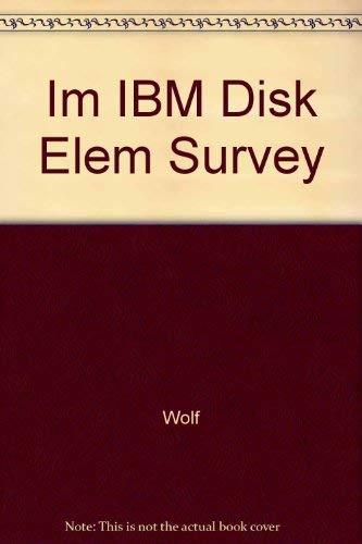 9780063609051: Im IBM Disk Elem Survey