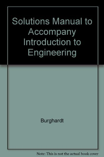 9780063610453: Solutions Manual to Accompany Introduction to Engineering