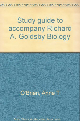 9780063623965: Study guide to accompany Richard A. Goldsby Biology