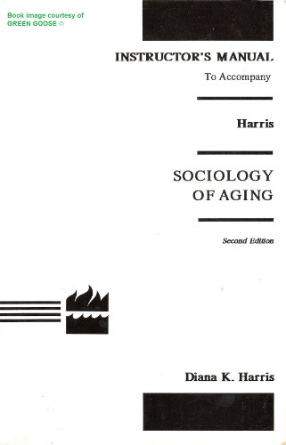 9780063625976: Im Sociology of Aging