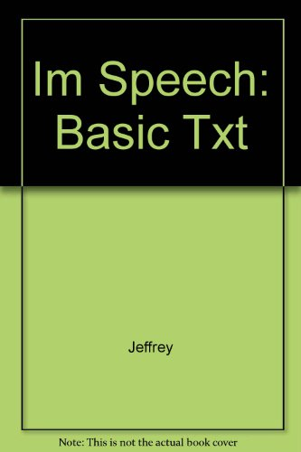 9780063632745: Im Speech: Basic Txt