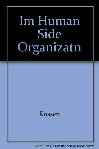 9780063637139: Im Human Side Organizatn