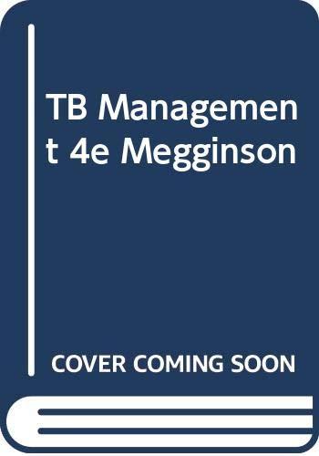 9780063642690: Testbank to Accompany Management, 4/E