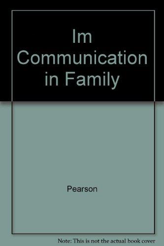 9780063650909: Im Communication in Family