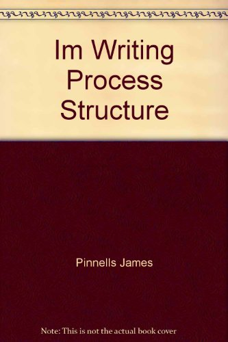 9780063652194: Im Writing Process Structure
