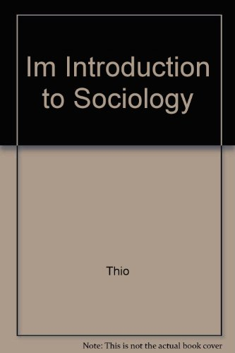 9780063666139: Im Introduction to Sociology
