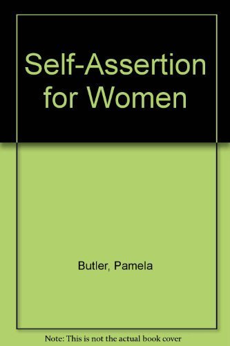 9780063812178: Self-assertion for women: A guide to becoming androgynous