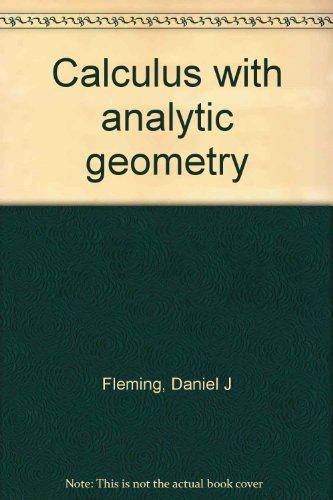 9780063826724: Calculus with analytic geometry