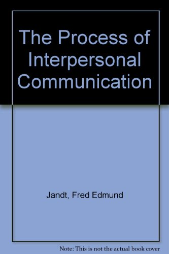 9780063842533: The Process of Interpersonal Communication