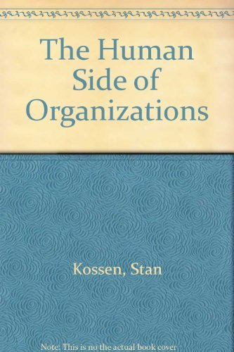 9780063847194: The Human Side of Organizations