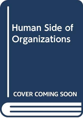 9780063847200: Human Side of Organizations