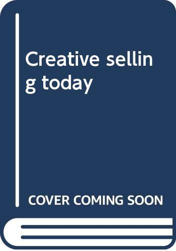 9780063847217: Creative selling today