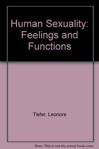 9780063847453: Human Sexuality: Feelings and Functions