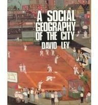 9780063848757: A Social Geography of the City (Harper & Row series in geography)