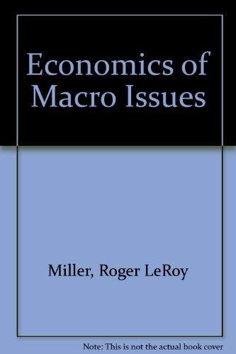 9780063854710: Economics of Macro Issues