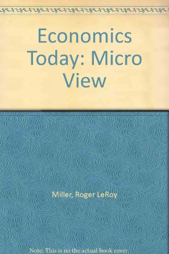 9780063854895: Economics Today: Micro View