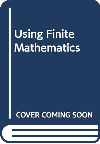 9780063857520: Using Finite Mathematics