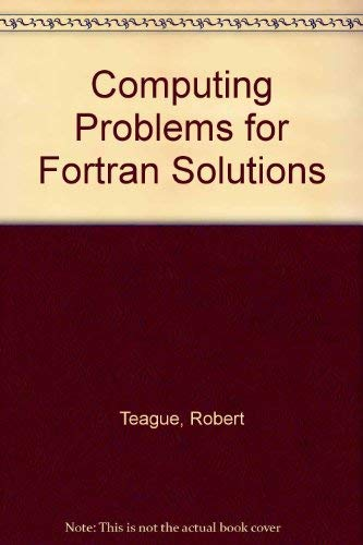 9780063886728: Computing Problems for Fortran Solutions