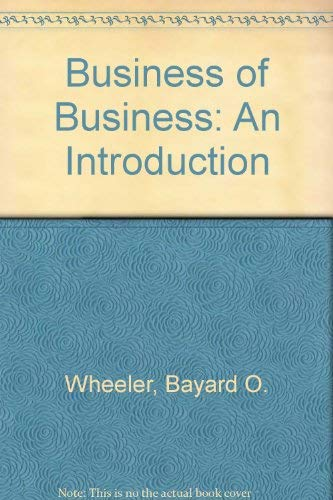 9780063893382: Business of Business: An Introduction